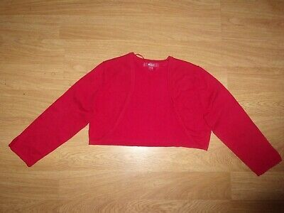 MONSOON RED SHRUG SIZE 12 #fashion #clothing #shoes