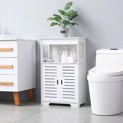 31 5 Bathroom Toilet Bath Storage Cabinet Double Door Double Compartment Freestanding Bathroom Storage Bathroom Floor Storage Cabinet Bathroom Floor Cabinets