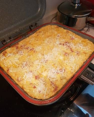 Cauliflower And Cheese Keto Resep Resep Makanan Resep Kembang Kol