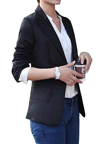 WSPLYSPJY Mens Fashion Casual One Button Suit Coat Jacket Business Blazers