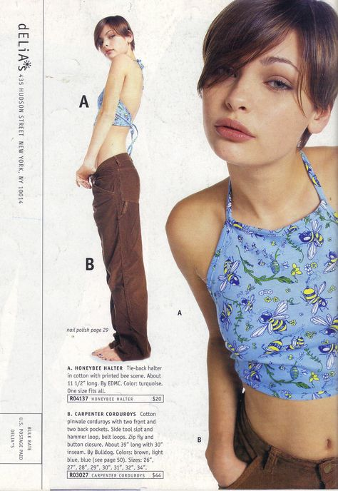 Pin for Later: This dELiA*s Catalog Has eVerYthiNg You Wanted In the This top Which was impossible to wear a bra with — so you didn't.