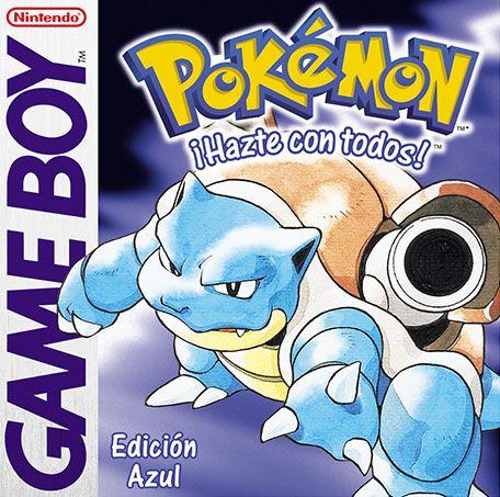 Pokémon Edición Azul Juegos De Pokemon Pokemon Rojo Y Azul Pokemon