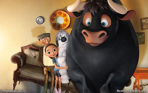 #Ferdinand has found his #family in this #wallpaper hd :]