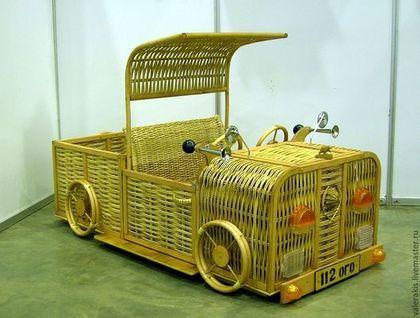 Детская ручной работы. Ярмарка Мастеров - ручная работа Машина  детская плетёная. Handmade.