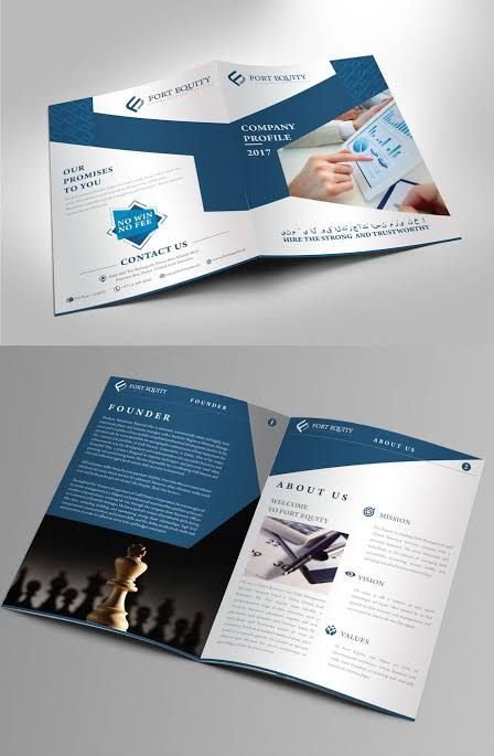 8 Pages Company Profile Template This Elegant And Well Organized