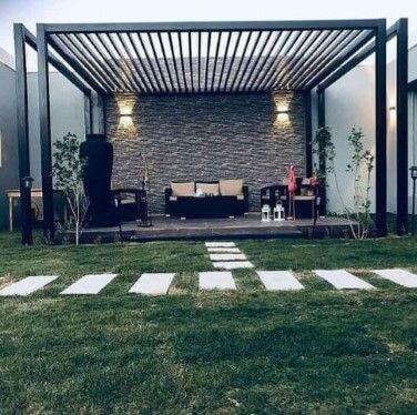 ديكورات مظلة منزلية صور مظلات للحدائق Outdoor Decor Outdoor Room Ideas Bedroom