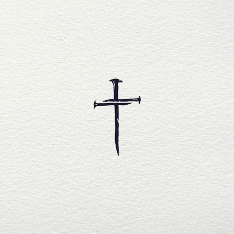 Little Cross Tattoos, Small Cross Tattoos, Cross Tattoos For Women, Simple Cross Tattoo, Feminine Cross Tattoo, Cross Tattoo On Wrist, Cross Neck Tattoos, Pretty Cross Tattoo, Tiny Tattoo