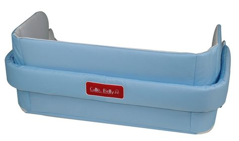 The Culla Belly Co Sleeper Attaches Onto Beds For Easy Access