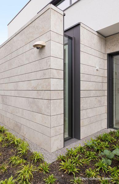 Bauhausvilla An Der Ruhr Fassade Haus Steinfassade Hauser Steinfassade