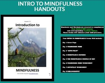 1intro To Mindfulnessdialectical Behavioral Training