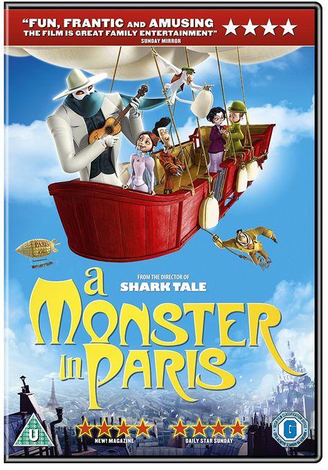 A Monster In Paris Dvd Amazon Co Uk Adam Goldberg Jay