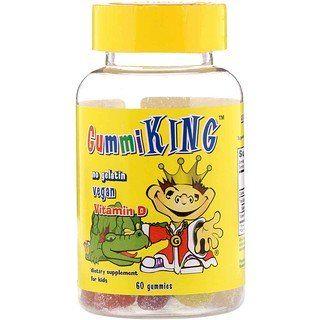 Gummiking Vitamin D For Kids 60 Gummies Vitamins Childrens Vitamins Gummies