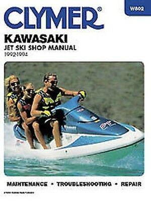 Advertisement Ebay Clymer Manuals Kawasaki Jet Ski 1992 1994 W802 In 2020 Clymer