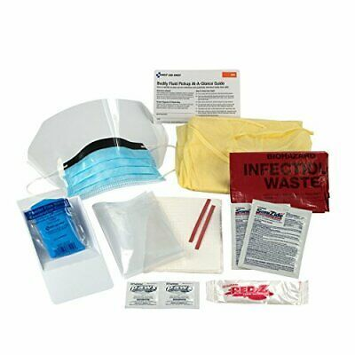 Ad First Aid Only Bloodborne Pathogen Spill Clean Up Kit Single Use Bloodborne Pathogens First Aid Body Fluid