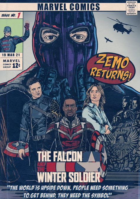 The Falcon And The Winter Soldier -Baron Zemo Returns!