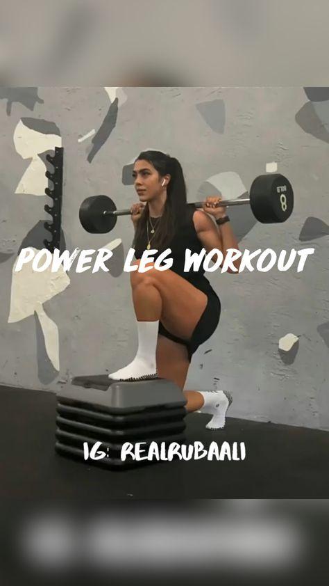 @HealthLifeFitness   Power Leg Workout