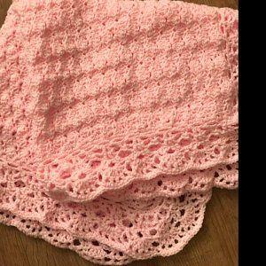 05c2f02b3d1f2 Crochet Blanket PATTERN, Baby Blanket Pattern Sugar Baby 12, Blanket ...