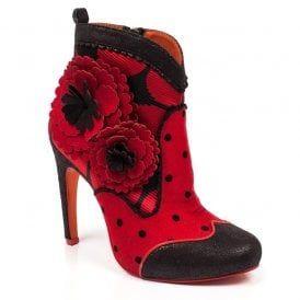 Heel Poetic Redlastword High Licence Last Word Boots Ankle R5Lj4A
