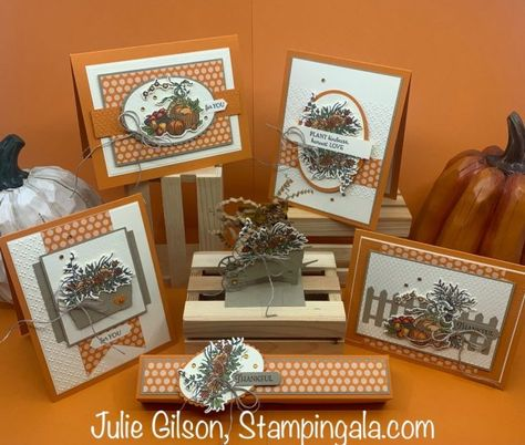 Harvest Moon, Fall Cards, Holiday Cards, Fall Birthday, Treat Holder, Stamping Up Cards, Stampin Up Christmas, Thanksgiving Cards, Card Sketches