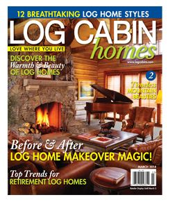 Log Cabin Homes Magazine | Log Cabin Homes, Etc. | Pinterest | Log Cabins,  Cabin And Logs