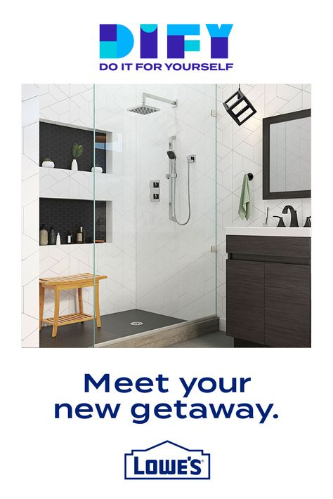 Indulge in a new shower you can indulge in.