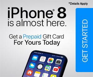 How To Get Free Stuff Offer Iphone 8 Is Almost Here Get A Prepaid Gift Card F Amazon Gift Card Free Win Gift Card Visa Gift Card
