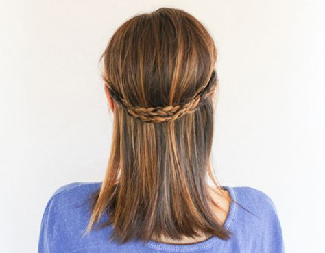 3 Chic Half Up Hairstyles With One Easy Technique Hair