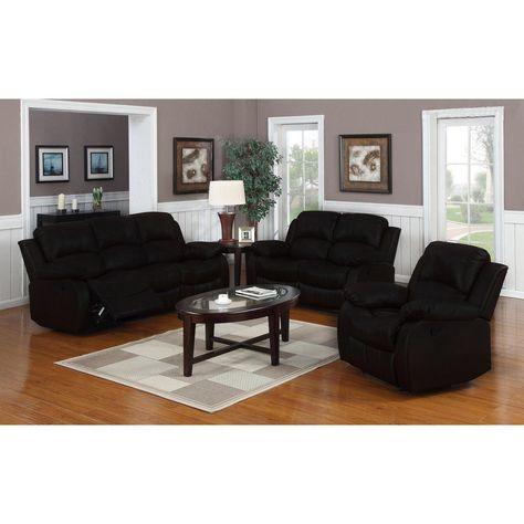 Aprende Cómo Decorar Utilizando Muebles de Cuero Negro | Color negra ...