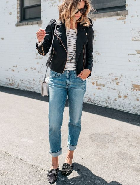 3 Ways To Style A Moto Jacket