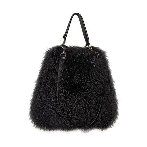 Givenchy Mongolia Fur Ombre Top Handle 1 125 Liked On Polyvore Featuring Bags Handbags Bolsas Purses Top Handles Ombre Top Givenchy Handbags Fur Bag