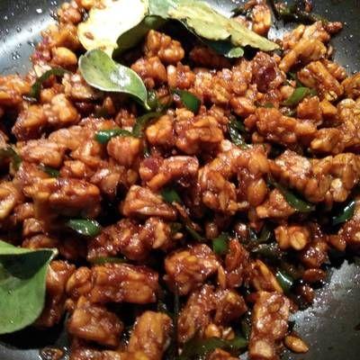 Resep Oseng Tempe Manis Pedas Lezat Murmer Mudah Oleh Tintin Rayner Resep Resep Resep Vegetarian Resep Masakan Sehat
