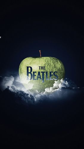 The Beatles - Apple Record Label Logo