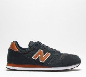e1cf26611d UK Official New Balance M373 Mens Retro Running Sneakers In Navy and Tan  London UK Deals