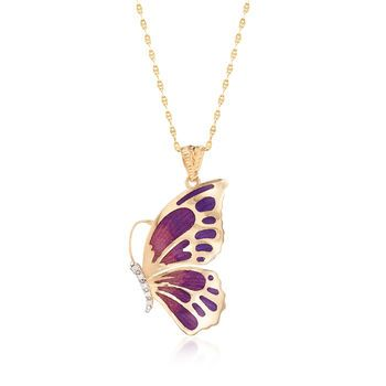 Butterfly with CZ accents