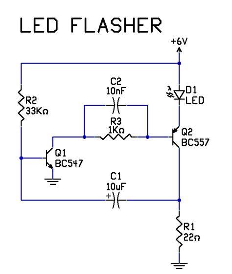 simple electrical circuit diagram - 661×781