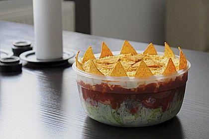 Mexikanischer Schichtsalat, ein schönes Rezept aus der Kategorie Eier & Käse. Bewertungen: 373. Durchschnitt: Ø 4,5.