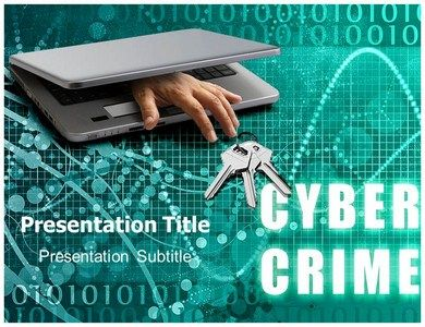 the cybercrime ppt templates slides come very handy for such tasks, Powerpoint templates