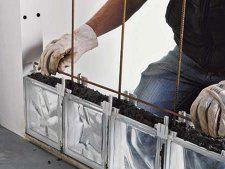 7 idees de pose brique de verre pose