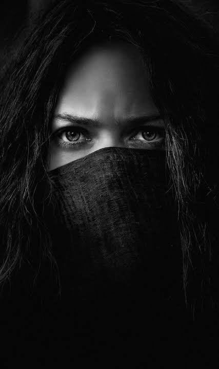 Black Wallpaper Dpz Black Wallpaper Beautiful Eyes Mysterious Girl Cool black and white wallpaper hd