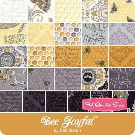 Moda Fabric Bee Joyful Mini Charm Patchwork Quilting 2.5 Inch Squares