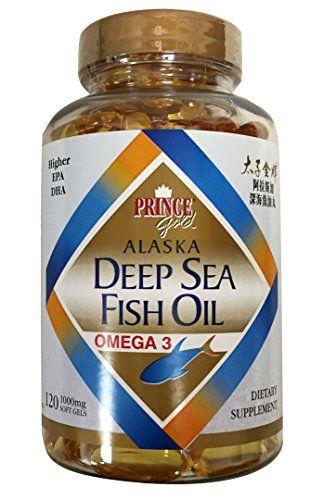 Prince Gold Alaska Deep Sea Fish Oil Omega 3 Higher Epa Dha