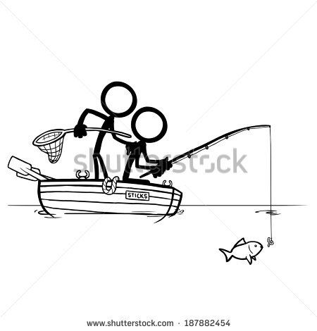 Image Result For Stickman Fishing Stick Figures Drawings Character