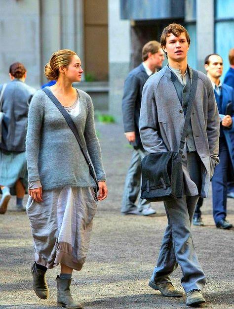 Divergent Caleb and Tris
