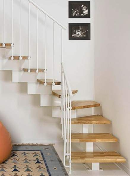 Best Floating Stairs Diy Small Spaces Ideas Stairs Design Modern   Wooden Stairs Design For Small Spaces   Apartment   Cabinet   2Nd Floor Small Terrace Concrete   Residential   Outdoor