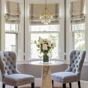 This Type Of Photo Is The Most Inspiring And Great Idea Windowsart In 2020 Dining Room Windows Bay Window Treatments Dining Nook