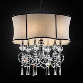 Princess Grace Collection Aluminum Curtain Lights Chandelier