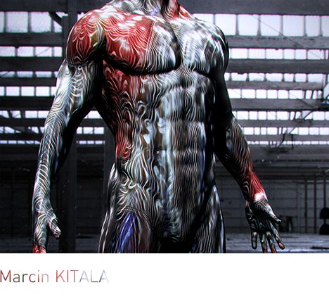 Material wraps one's body with a seamless surface, at the same time covering wires, electronic armature, systems for sustaining life, and actuators strengthening the skeleton, muscles, and helping one to breathe.