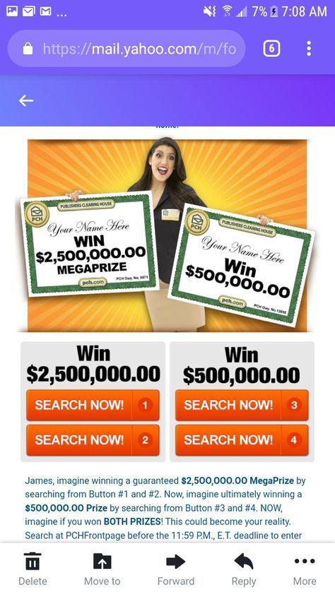 PCHLOTTO $2,500,000 00 MEGAPRIZE I RRojas Claim My lotto