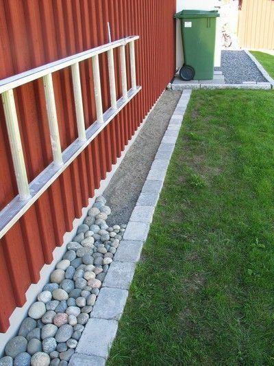 Resultado De Imagen Para Adoquines Alrededor De La Casa Hormigon House Image Kullersten Re S In 2020 Front Yard Landscaping Backyard Landscaping Backyard