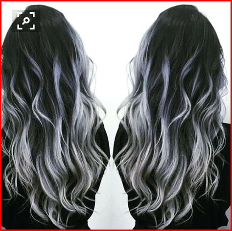 White and Black Hair Color Ideas, White and black hair color ideas are more than on trend right now. This mixture is no longer considered 'granny hair' though the style has been a..., Hair Colour Style